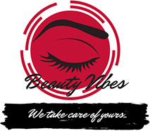 Beauty Vibes | We take care of yours | Golders Green | Toni & Guy | Beautician Logo